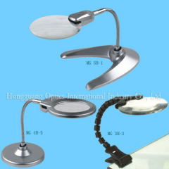 LED bench,clip magnifier