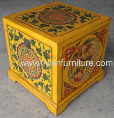 Antique reproduction tibet trunk