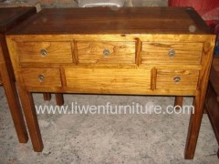 Antqiue recycle wood table
