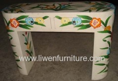 Chinese antique painting table