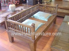 Antique reproduction sofa