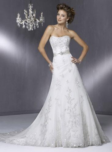 Budget friendly wedding dress