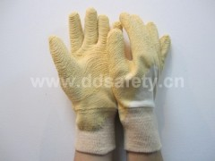 Safety cotton with latex glove