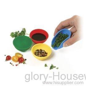 4-piece flexible bowl set