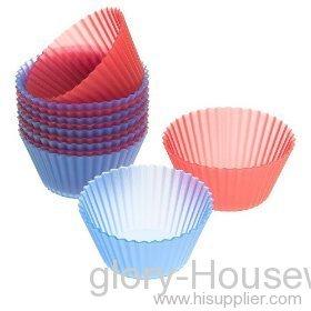 12 -piece baking cups set