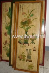 Antique reproduction screen