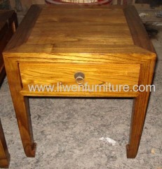 Antique reproduction wooden stool