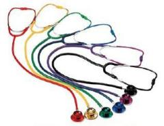 Coloured Dual Head Stethoscope