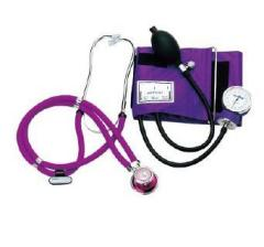 Sphygmomanometer Kit with Rappaport Stethoscope