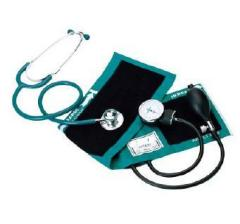 Sphygmomanometer Kit with Dual Head Stethoscope