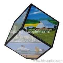 revolving photo cube