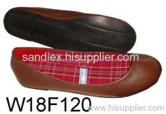 ladies fashion pu shoes