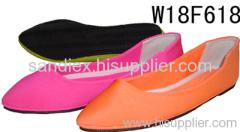 Ladies pu Ballet Shoes