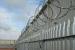 flat razor wire fence