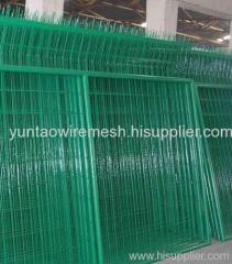 welded wire mesh fence with frame