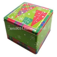 square shape metal box
