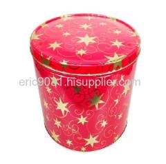 small popcorn tin
