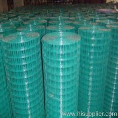 pvc coated welded roll