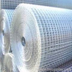 electro galvanized welded wire mesh rolls