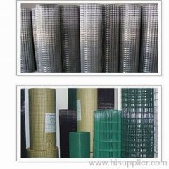 hot-dipped galvanized welded mesh roll