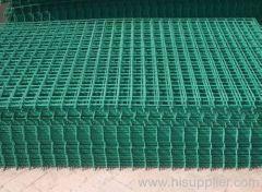PVC coated welded panel