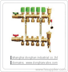 Water heating Manifold