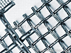 Crimped wire mesh for coal