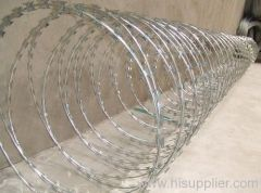 Galvanized Concertina Razor Wire