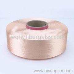 PVC caoted fiberglass yarn