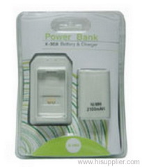 XBOX360 battery charger