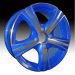 Alloy Wheels bright color