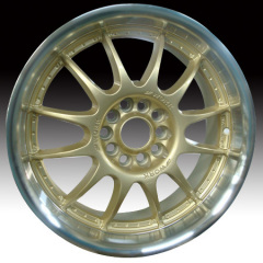 Alloy Wheel YELLOW FINISH