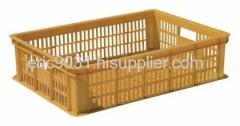 plastic rectangular crate
