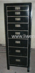 Antique reproduction documents cabinet
