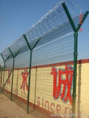 Galvanized Airport Fence