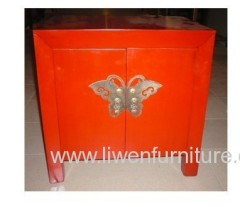 Chinese antiques nightstand