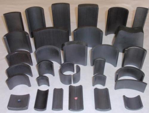 Ferrite Arc Magnet For DC motors