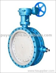 Puyue Resilient Soft Seated Butterfly Valves
