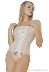 women corset and garter