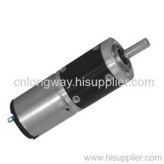 pmdc planetary gear motor