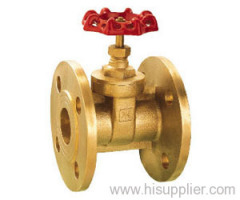 Forged Brass Flanged Gate Valve