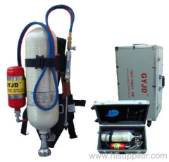 Backpack oxy gasoline cutting system