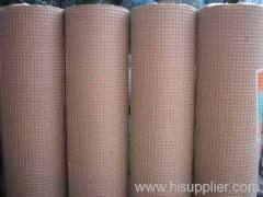 blue roll PVC coated welded wire meshes