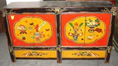 Chinese furniture mongolia cabinet