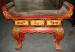 Antique painted altar table