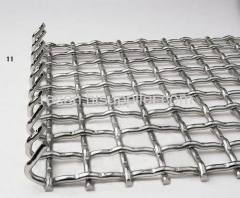 SS304 Crimped Mesh