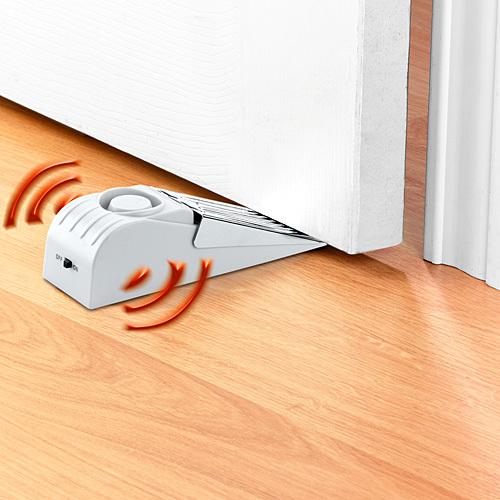 Door Stop Alarm - Wedge Stopper Alarm Prevents Door from ...
