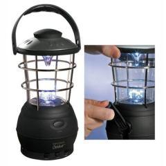Crank Lantern with FM Scan Radio