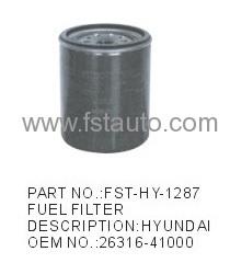 Auto Oil Filters HYUNDAI