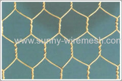 galvanzied hexagonal wire mesh